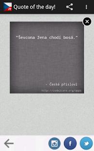 České Přísloví Pro - screenshot thumbnail