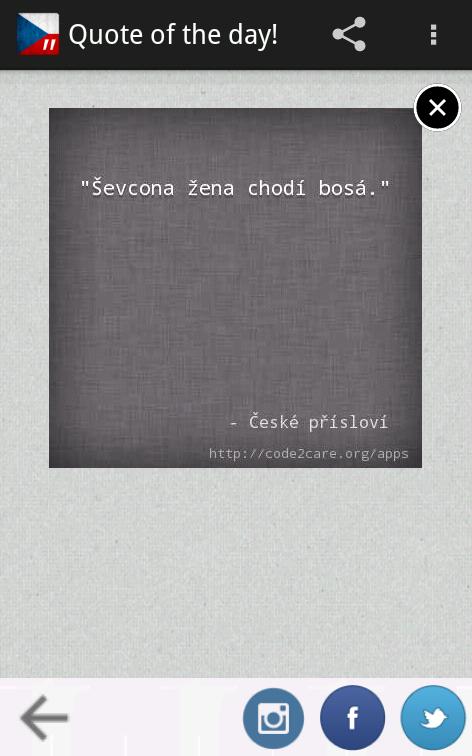 České Přísloví Pro - screenshot