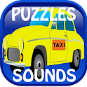 Kids Puzzles:Vehicles & Sounds