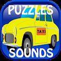 Kids Puzzles:Vehicles & Sounds icon