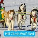 Hill Climb Wolf Sled icon