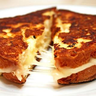 Grilled Mozzarella Cheese Sandwiches.