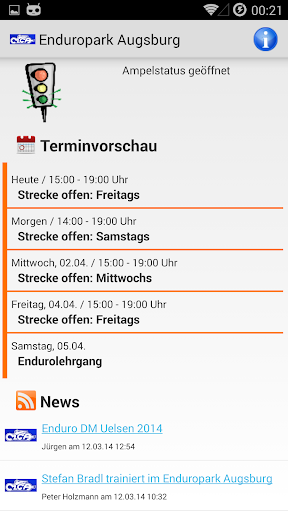 【免費運動App】Enduropark Augsburg-APP點子