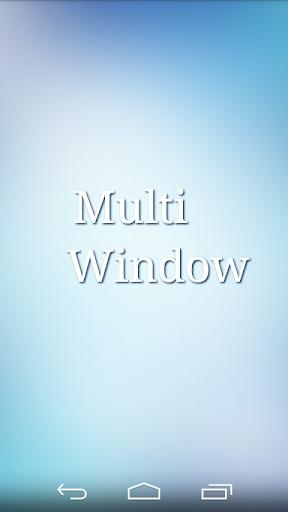 Dual Multi Window