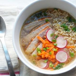 Pork Ramen Soup.