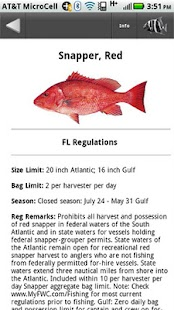 Fl sw fishing regulations android apps on google play for Saltwater fishing license florida