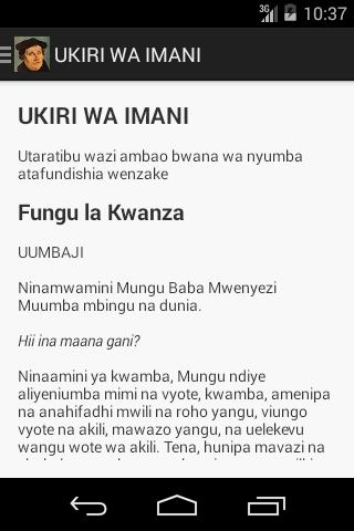 玩生活App|Katekisimo Ndogo免費|APP試玩