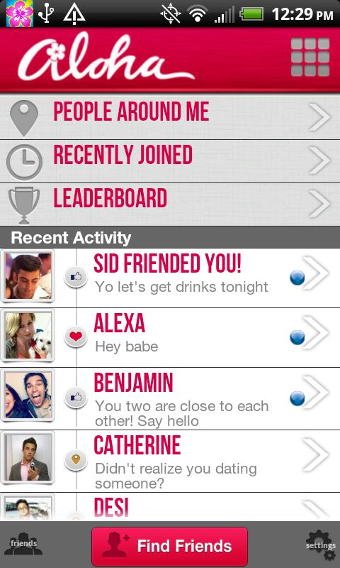 Aloha: Find Friends and Family - screenshot