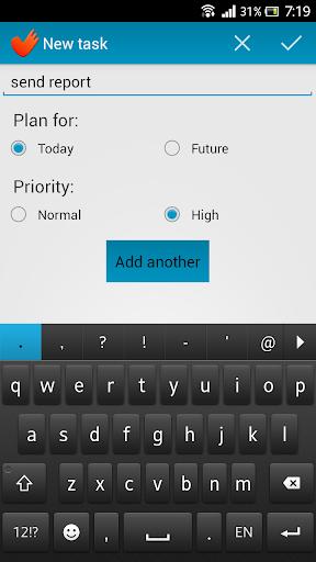 PrettyTasks: tasks for today