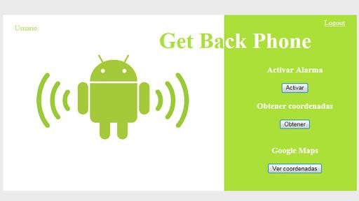 Get Back Phone
