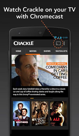 Crackle - Movies & TV 4.4.4.6 screenshot 82007