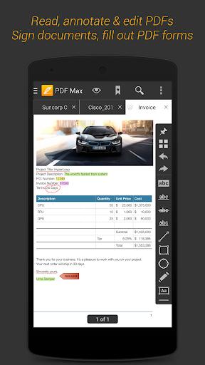 PDF Max Free - 1 PDF Reader