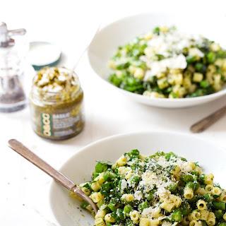 Five Ingredient Simple Green Pasta Salad.