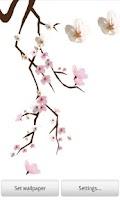 Screenshot of Lovely Sakura Live Wallpaper+