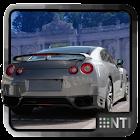 Sport car dash icon