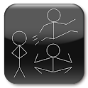Jumping Stick Man logo