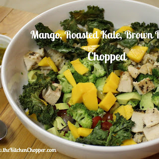 Mango, Roasted Kale, Brown Rice Chopped
