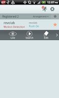 Screenshot of REVO Mobile