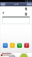 Screenshot of Math Practice Flash Cards PRO