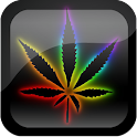Rainbow Pot Leaf 3D Wallpaper logo