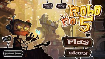Screenshot of Robo5: 3D Action Puzzle
