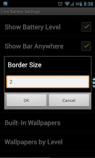 Live Battery Free (Status Bar) - screenshot thumbnail