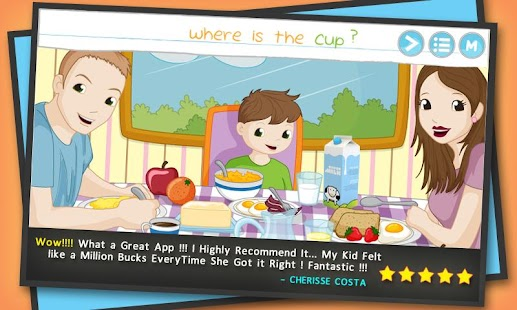 Words For Kids: Reading Games - screenshot thumbnail