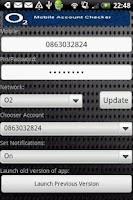 Screenshot of MAC Mobile Account Checker