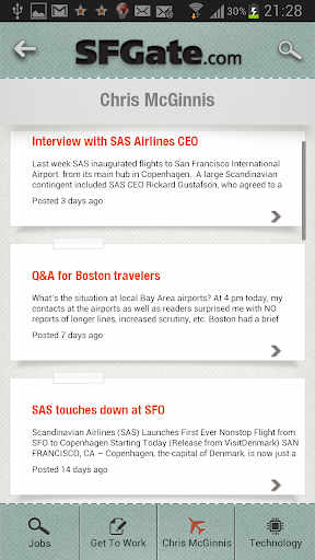 SFGate Jobs screenshot 3