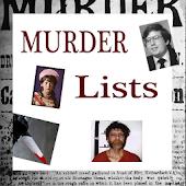 Murder Lists
