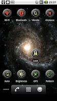 Screenshot of Lock Screen Widget