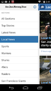 The Mercury News- screenshot thumbnail