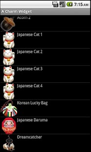 World Lucky Charm Widget - screenshot thumbnail