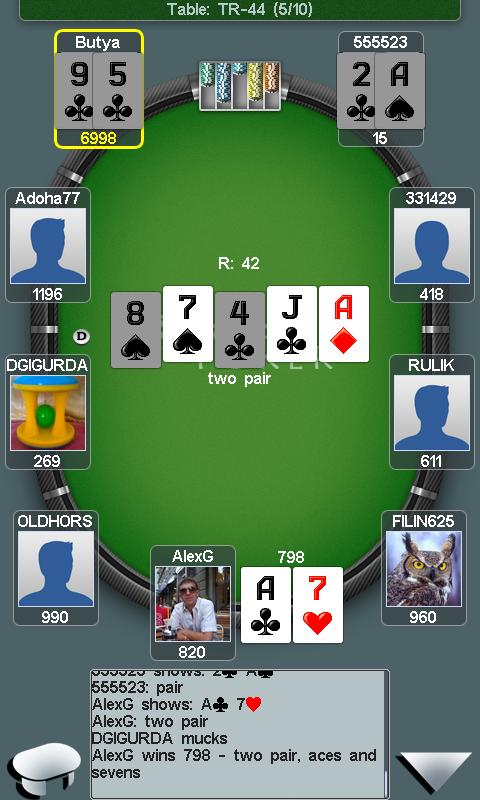 cash poker android