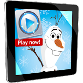Music Player Olaf Snow Frozen
