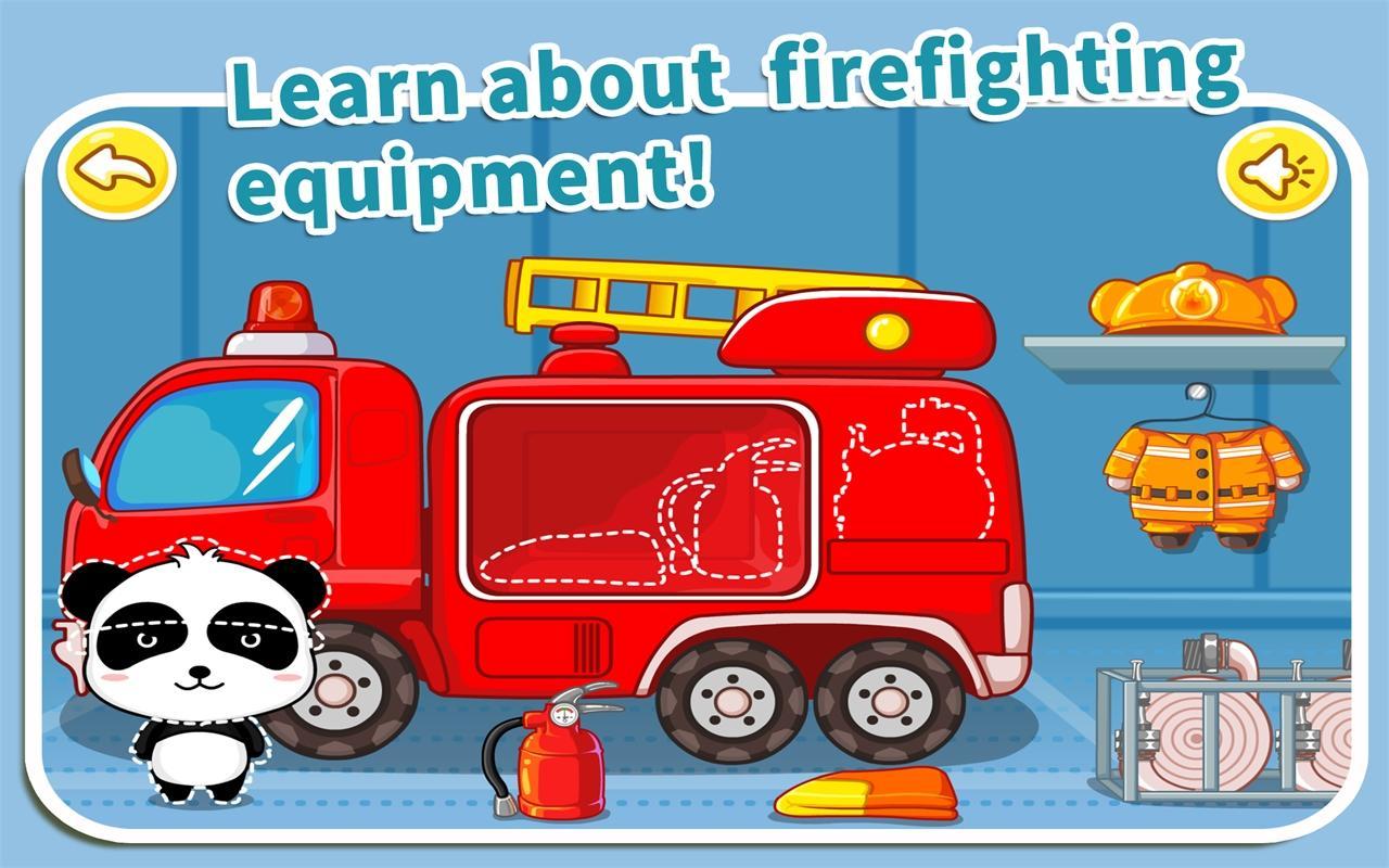 Little Fireman by BabyBus - screenshot
