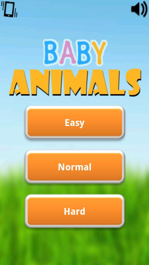 Baby Animals Game - screenshot
