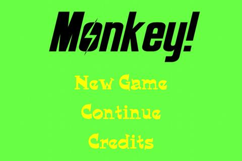 Monkey!- screenshot
