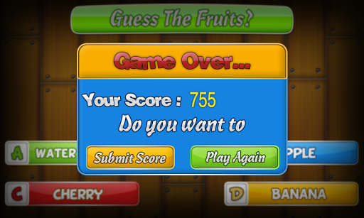 Guess The Fruit - IQ Game