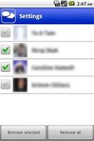 Screenshot of FastChat for Facebook