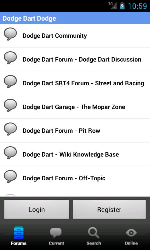 Dodge Dart Forum - screenshot