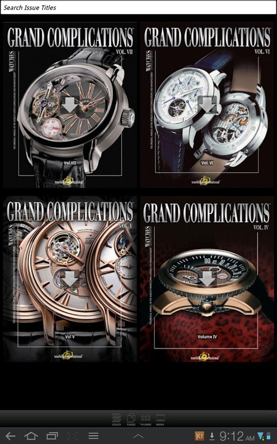 Grand Complications- screenshot