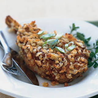 Veal Chops with Creole Mustard Crust.