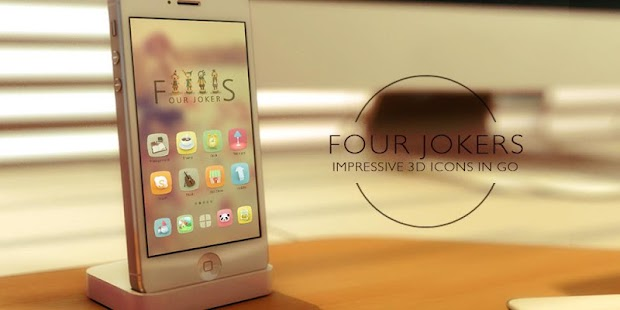 Four Jokers GO Launcher Theme - screenshot thumbnail