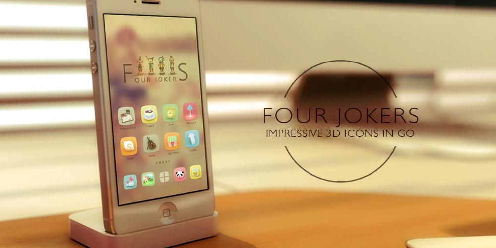 Four Jokers GO Launcher Theme- screenshot