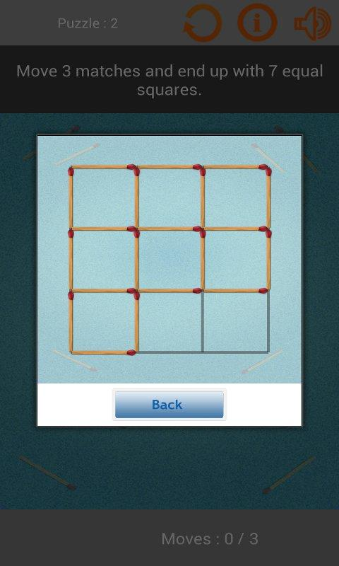 Matches Puzzles Game - screenshot