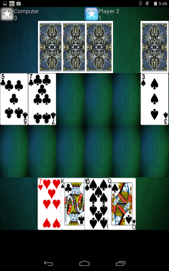 Casino Card Game- screenshot