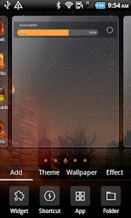 Fire_Turbo launcher EX Theme - screenshot thumbnail