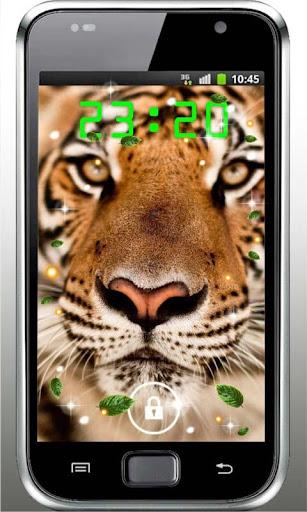 Tiger Super HQ live wallpaper