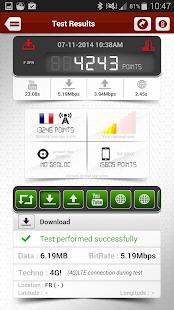 4Gmark (3G / 4G speed test) - screenshot thumbnail